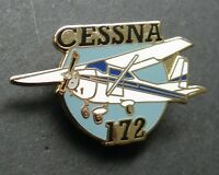 CESSNA 172 PLANE CIVIL AIRCRAFT LAPEL PIN BADGE 1.1 INCHES