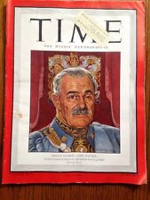 TIME Magazine July 16, 1945, India's Viceroy, Lord Wavell.  Vintage Ads