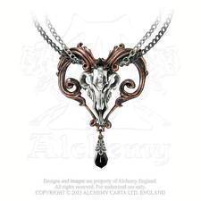 Alchemy - amon-ra - peltro e collana cristallo