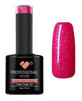 191 VB™ Line Butterfly Pink Glitter - UV/LED soak off gel nail polish
