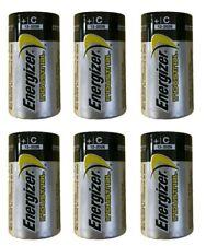 Energizer EN93 Industrial C Batteries 6 New