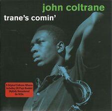 JOHN COLTRANE TRANE'S COMIN' - 5 CD BOX SET