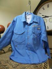 Columbia Sportswear Men's Fishing Button Down Mercury Motor Multi Front Pockets