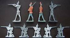 British 6-10 Military Personnel Vintage Toy Soldiers