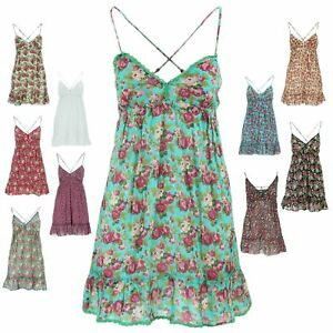 STRAPPY DRESS TOP GYPSY HIPPIE FESTIVAL CAMISOLE Dolly by Gabrielle Parker