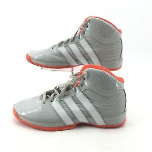 Adidas Commander Mens Basketball Shoes Athletic Mid Top Sneakers G98583 Gray 8.5