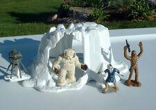 Hoth Wampa Cave w/Diecast Figures & Probot 1982 ESB Vintage Star Wars NICE
