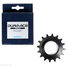 """Shimano Dura-Ace 16T x 1/8"""" Track Bike Racing Cog Sprocket NJS SS-7600 - Black"""