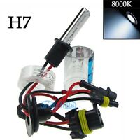 Xenon 35W HID Low Beam Head Light Replacement Bulbs Lamp H7 8000K Ice Blue (t)