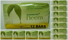 12 BARS!! of Swastik Neem Soap 70gm w/ Eucalyptus Oil USA SELLER FAST SHIPPING