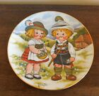 Dolly Dingle Visits Germany Collector Plate - First Edition - Grace G. Drayton