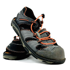 New Balance Adirondack Sandals Bungee Outdoor Hiking Black Orange Gray P3W
