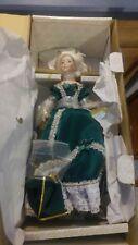 Franklin Heirloom Dolls Jeanne-Antoinette de Pompadour Porcelain Doll