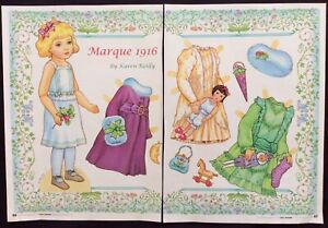 Marque Doll 2010 Mag. Paper Doll Uncut, by Karen Reilly