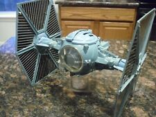 Vintage Original Star Wars Blue Tie Fighter with Working Electronics
