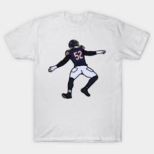 Khalil Mack 52 Chicago Bears NFL Football T Shirt Vintage Gift For Men Family