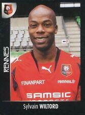 389 SYLVAIN WILTORD STADE RENNAIS.FC ARSENAL.FC STICKER FOOT 2008 PANINI