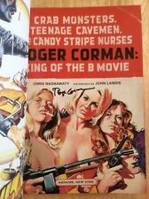 SIGNED By Roger Corman Crab Monsters, Teenage Cavemen + Pic Little Shop Horrors