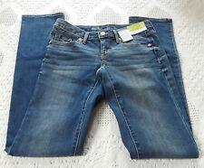 NWT Women's Mossimo Modern Straight Jeans Size 00 Medium Wash