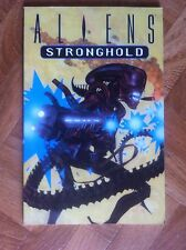 ALIENS STRONGHOLD PAPERBACK SOFTCOVER FINE/VERY FINE (F42)