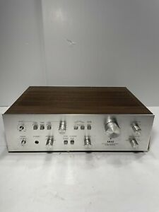 AKAI AM-2400 Integrated Amplifier Tested Sounds Good Made In JAPAN