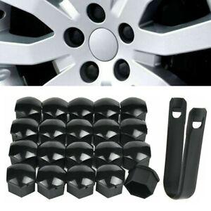 22mm Noir Boulon Housse Ecrou de Roue Protection Pour Range Rover Sport