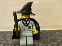LEGO HARRY POTTER HARRY WITH WIZARD HAT MINI FIGURE VERY GOOD CONDITION