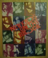 NKOTB 1989 Hangin' Tough Concert Program - New Kids On The Block Boy Band Book