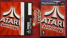 ATARI ANTHOLOGY ORIGINAL BLACK LABEL SONY PLAYSTATION 2 PS2 PAL