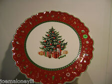 VILLEROY & BOCH PORCELAIN CHRISTMAS TREE DECORATIVE PLATE