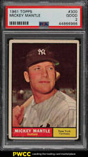 1961 Topps Mickey Mantle #300 PSA 2 GD