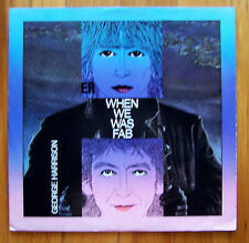 """New listing 1988 """"WHEN WE WAS FAB by  GEORGE HARRISON  (BEATLES) -  LP - BRITISH IMPORT"""