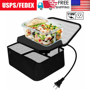 110V Personal Electric Lunch Box Bag Portable Oven Mini Food Warmer for Office