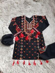 Eid collection Girls pakistani eid dress indian salwar kameez dress 20-36