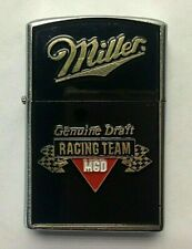 Vintage Miller Genuine Draft Beer Racing Team Lighter Mgd