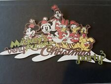 Disney   Mickey's very Merry Christmas Party scrapbook die cut title