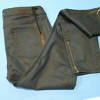Elie Tahari 30 Denim Cobalt Stretch Audrey Legging Fit Ankle Skinny Jeans NWT