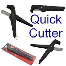 Neilsen PVC Pipe Tube Cutter Quick Plastic Hose Hoses Rubber Steel Blade CT3732