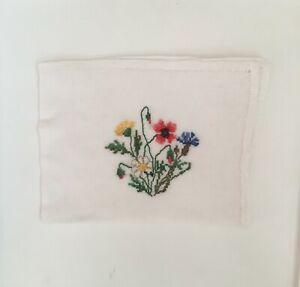 Wedding Cotton Solid Plain Pocket Square Office Suit Handkerchief Kerchief