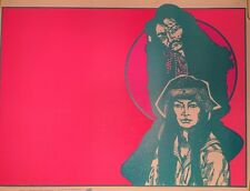 Family 1 Vintage Poster Black light Psychedelic Dunham Deatherage Man Woman 60's