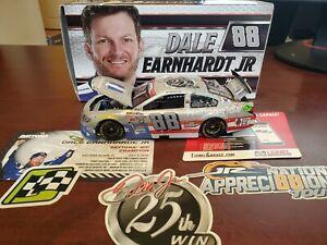 2015 Dale Earnhardt Jr #88 Nationwide 25th Race Win Flashcoat Silver 1:24 Action