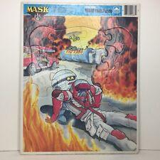 Máscara de oro MARCO-BANDEJA VINTAGE Puzzle Obra Completa T-Bob Matt Tracker 1986