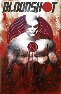HERO INITIATIVE BLOODSHOT 50 PROJECT Original cover: STUART SAYGER CGC 9.4
