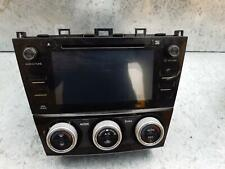 SUBARU FORESTER RADIO/CD PLAYER, SAT NAV HEAD UNIT (P/N ON FACE FF229KS), SJ,