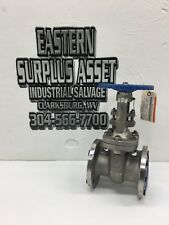 """OIC Newman's 3"""" CF8M Stainless Flanged Gate Valve NEW"""