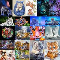 Tier DIY 5D Diamond Painting Diamant Stickerei Malerei Bilder Stickpackung Deko