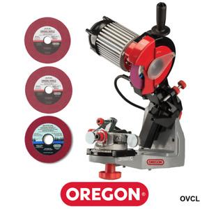 Genuine Oregon 620-230A Premium Hydraulic Bench Grinder Chainsaw Chain Sharpener