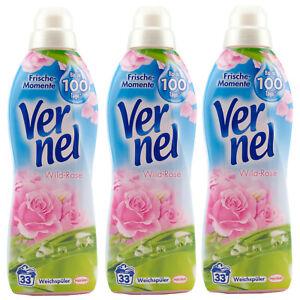 Vernel Wild-Rose 3 X 1L - 33WL -frische Momente- Hasta 100 Para Dias