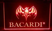 Bacardi Logo Beer Bar Pub 3D signs led Store Sign Neon schools office Man Cave