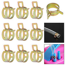 10Pcs 18mm Spring Clip Fuel Line Hose Water Pipe Air Tube Clamps Fastener